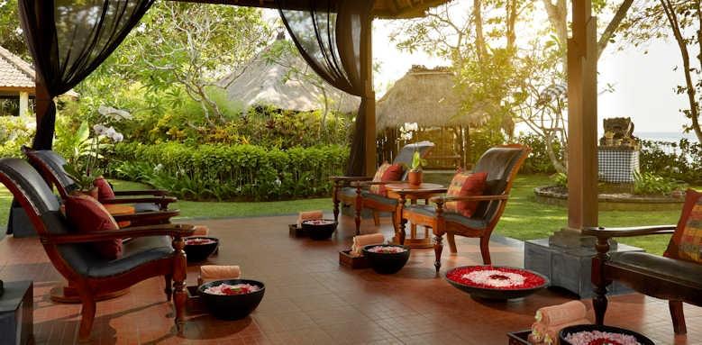 Melia Bali, spa area