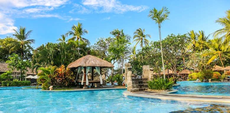 Melia Bali, main pool area