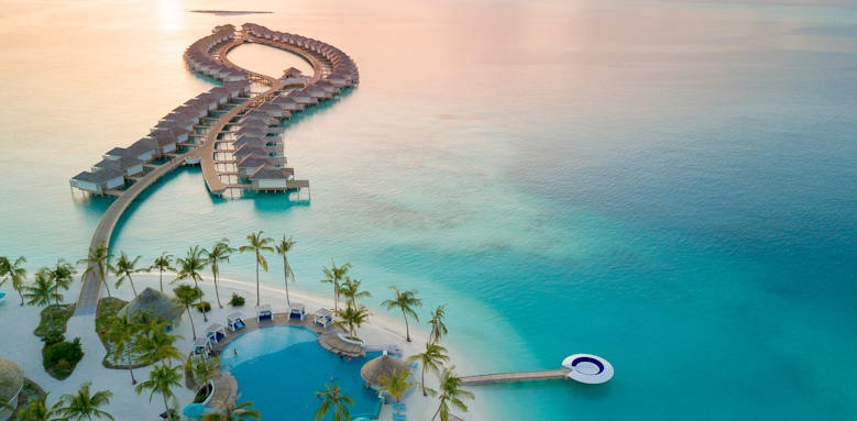 Kandima Maldives aerial view
