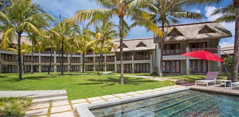 C Mauritius, pool area