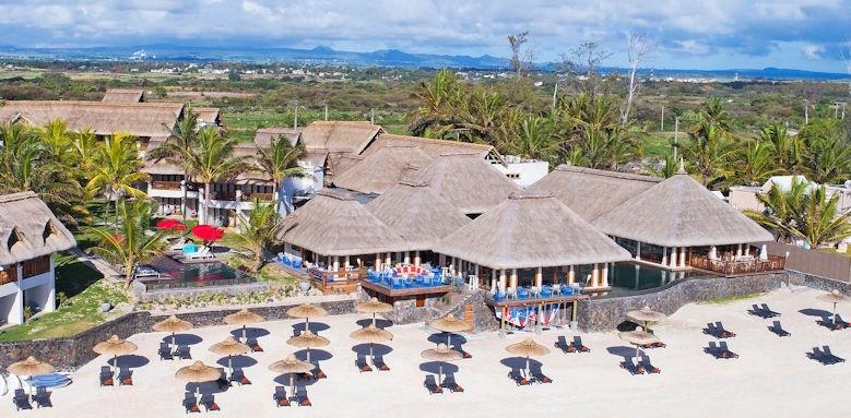 C Mauritius, drone view