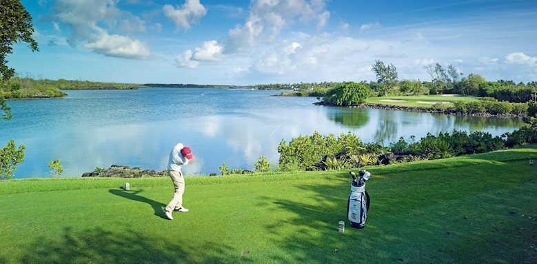 Constance Belle Mare Plage, golf