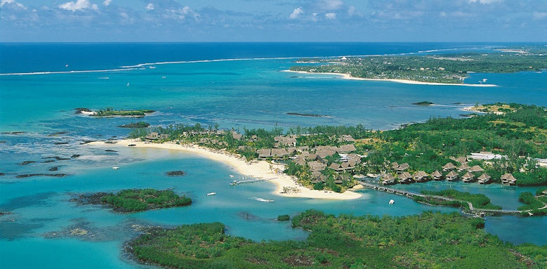 Constance Prince Maurice, aerial view of hotel