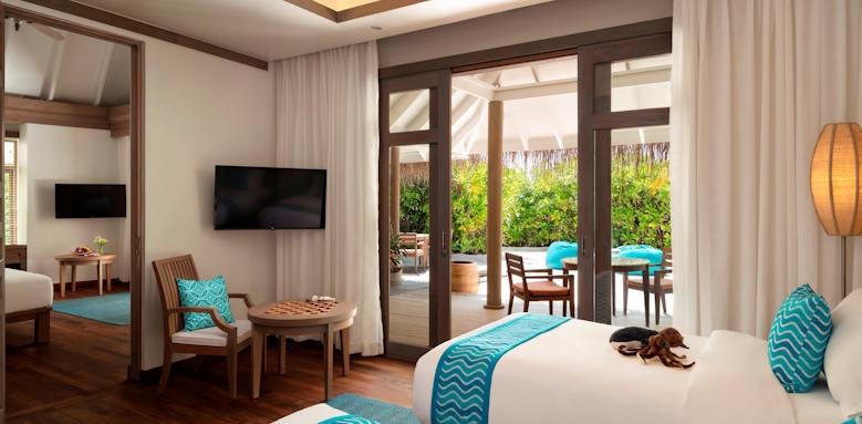 Anantara Dhigu,  two bedroom suite