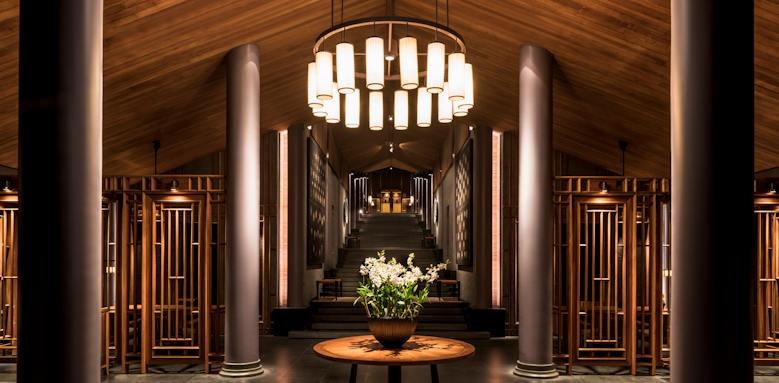Amanoi, lobby