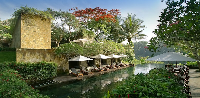 Maya Ubud, main pool