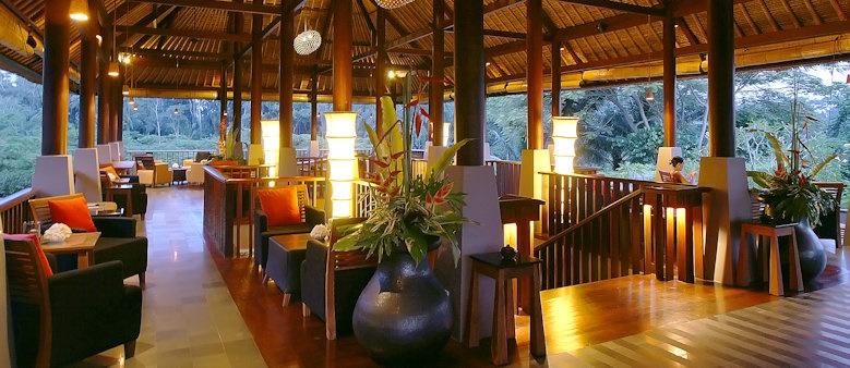Maya Ubud, restaurant