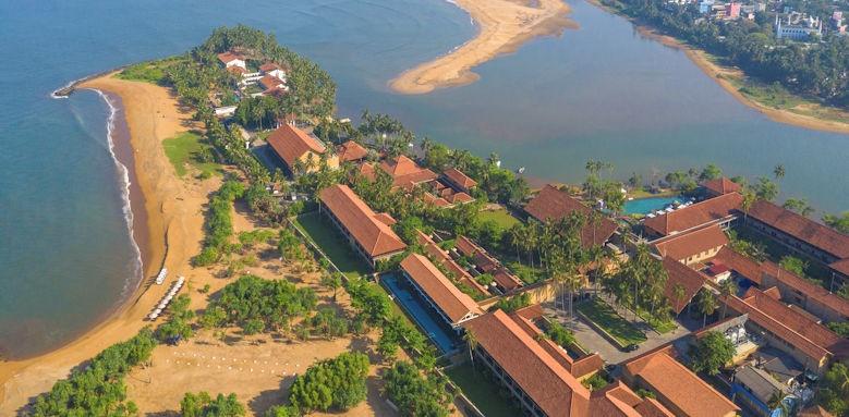 Anantara Kalutara Resort, aerial