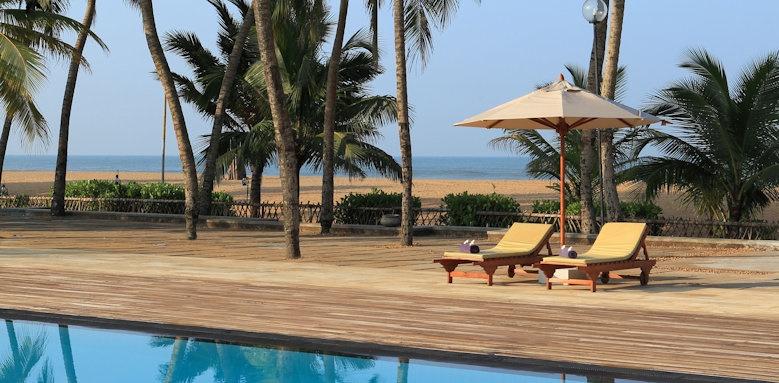 Avani Kalutara Resort, pool and beach