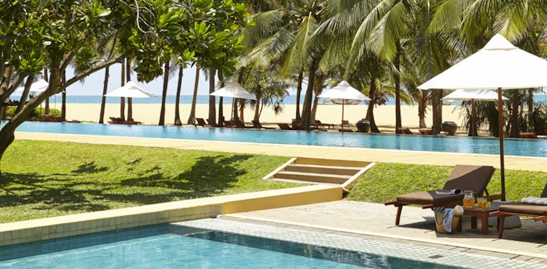 Jetwing Beach, pool view