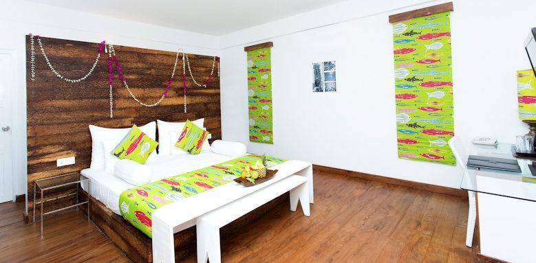 Maalu Maalu Resort & Spa, deluxe bedroom