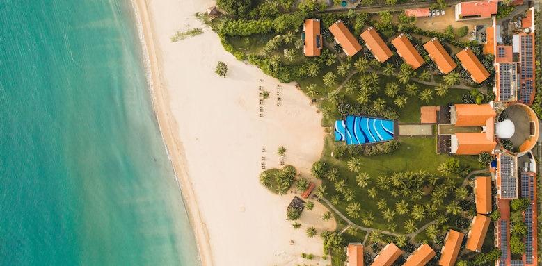 Uga Bay, aerial view