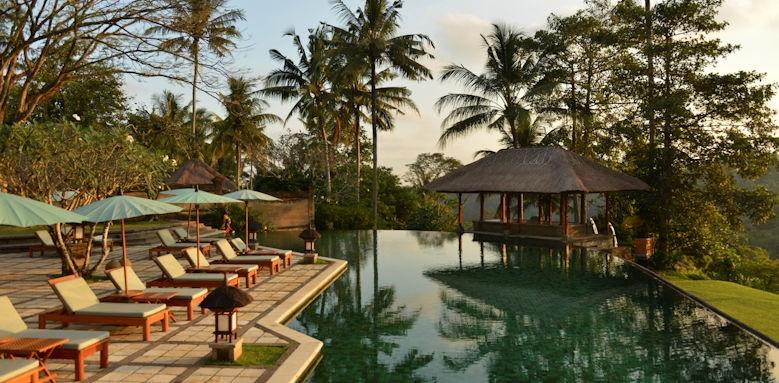 Amandari, another view of pool area