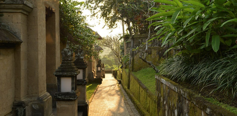 Amandari, main pathway