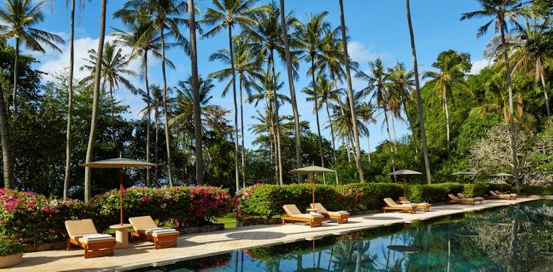 Amankila, swimming pool view