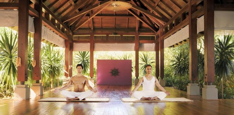 Shanti Maurice, yoga pavilion