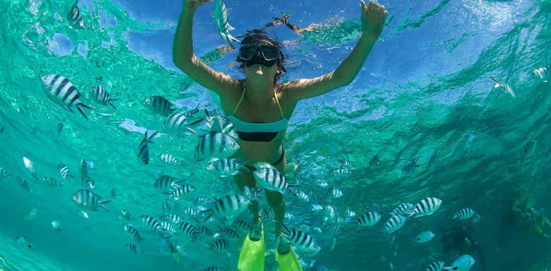 Shanti Maurice, Snorkelling