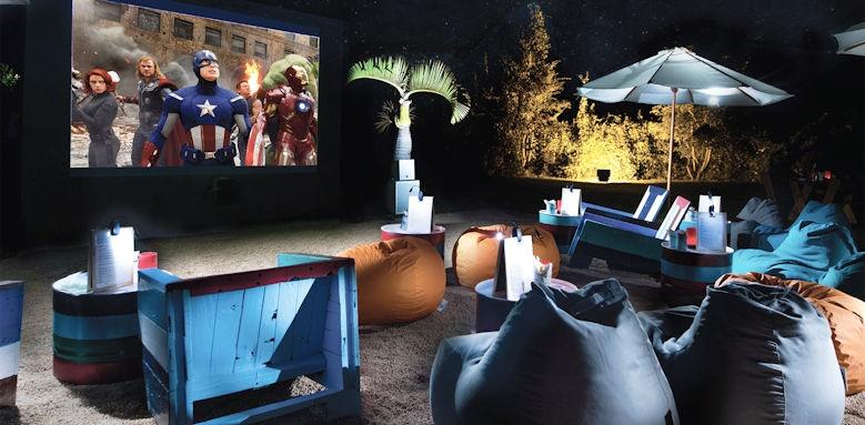 Shanti Maurice, open air cinema