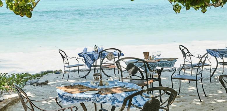 Breezes Beach Club & Spa, beach chairs
