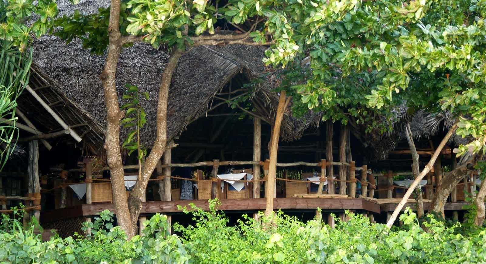 Fundu Lagoon, tree house