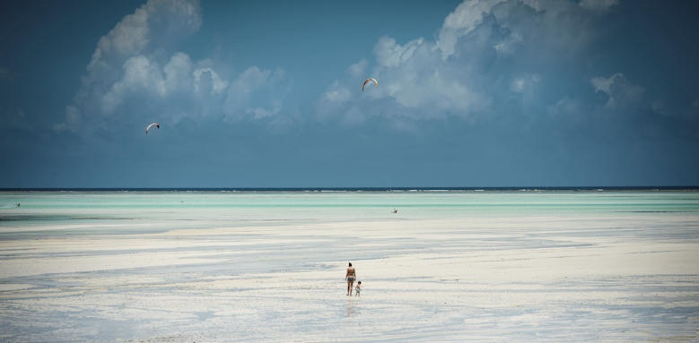 Zanzibar White Sand Luxury Villas & Spa, low tide