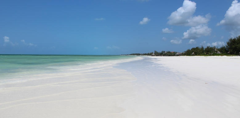 Zanzibar White Sand Luxury Villas & Spa, sandy beach
