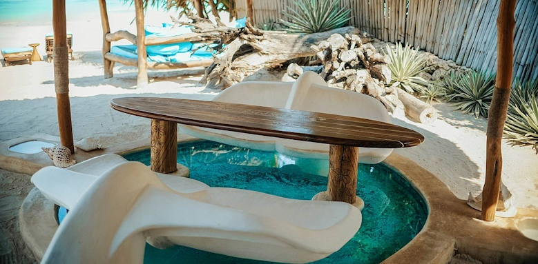 Waterlovers Beach Resort, whirpool