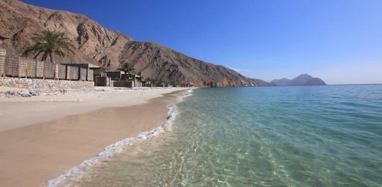 Six Senses Zighy Bay, beach