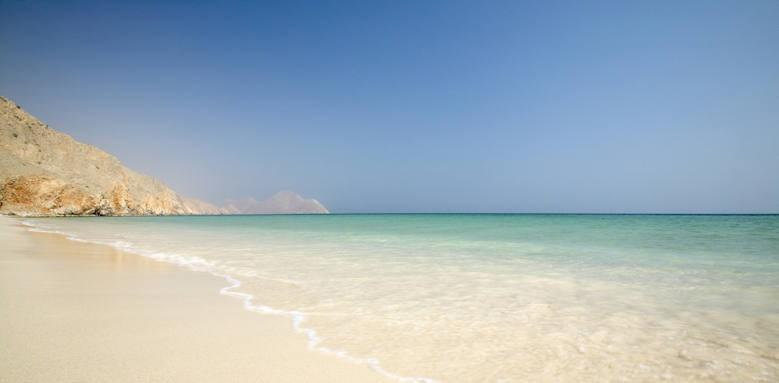 Six Senses Zighy Bay, beach sand