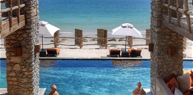 Six Senses Zighy Bay, pool
