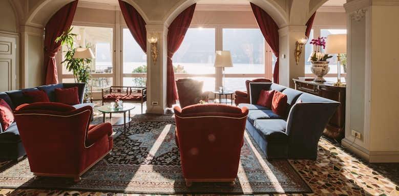 Villa Flori, living room