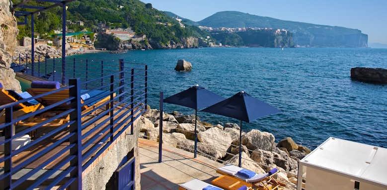 Capo la Gala, view over the sea