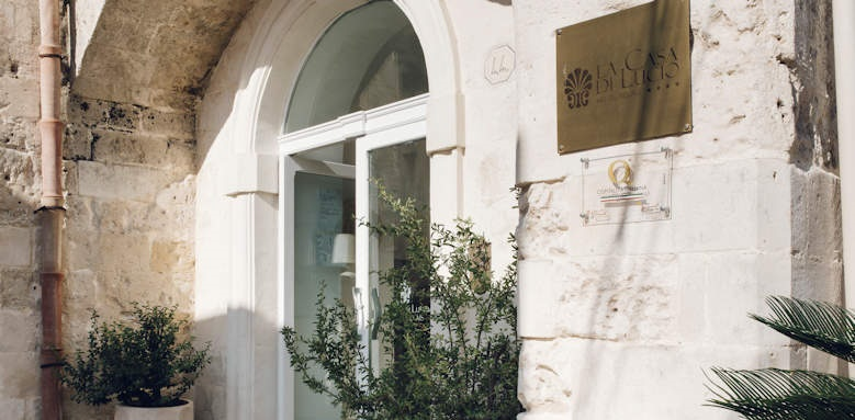 Relais la Casa di Lucio, entrance