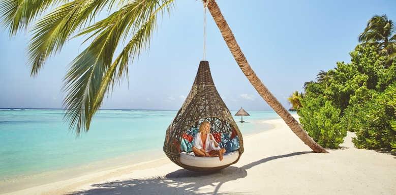 LUX South Ari Atoll, beach love nest