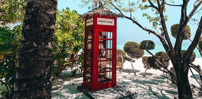 LUX South Ari Atoll, telephone box