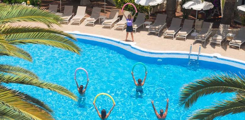 Alua Suites, Aqua aerobics