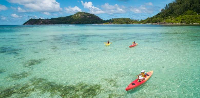 Constance Ephelia Seychelles, Kayaking