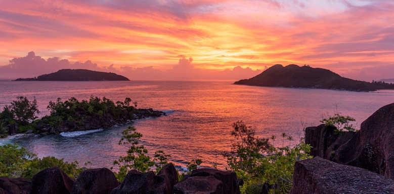 Constance Ephelia Seychelles, sunset