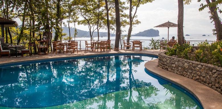 Arenas del Mar Beachfront & Rainforest Resort, pool view