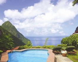 Ladera resort, heritage suite views