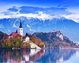 Slovenia, Lake Bled thumbnail