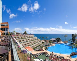 pestana carlton madeira, view over pool