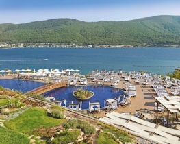 Titanic Deluxe Bodrum, view of pool