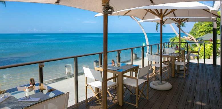 Coco de Mer Hotel & Black Parrot Suites, restaurant view