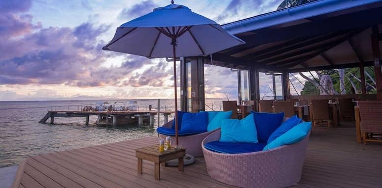 Coco de Mer Hotel & Black Parrot Suites, seating
