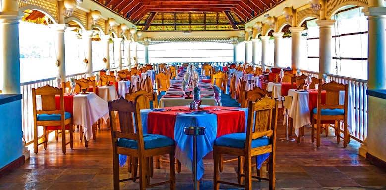 Le Domaine de la Reserve, restaurant