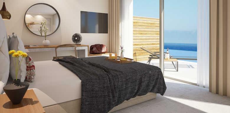 Marbella Elix Hotel, Junior Suite Panorama with sea view