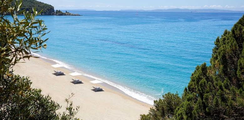 Marbella Elix Hotel, beach area
