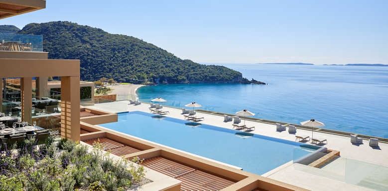 Marbella Elix Hotel, pool area