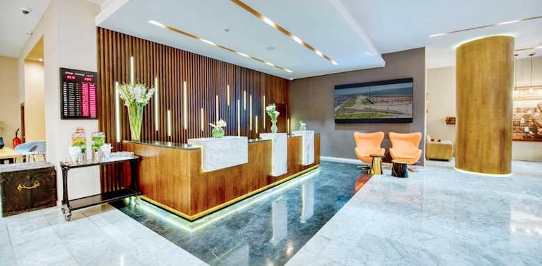 Marina Bay Tangier, reception area